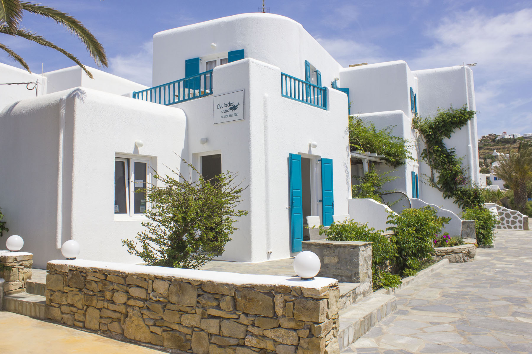 Click Here To See Our Sister Hoter Cyclades Studios Mykonos